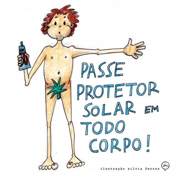 passe protetor solar